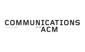 Communications of the Association for Computing Machinery