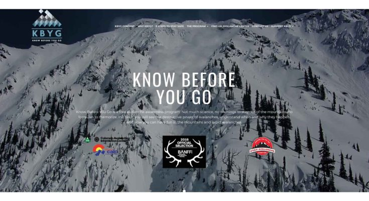 Know Before You Go – Avalanche Education
