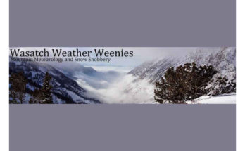 Wasatch Weather Weenies – Mountain Meteorology and Snow Snobbery Blog