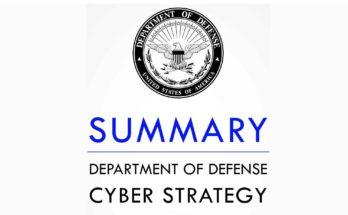 DoD Cyber Strategy - 2018