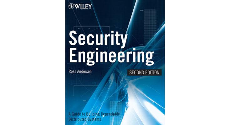 Security Engineering, 2nd Ed.