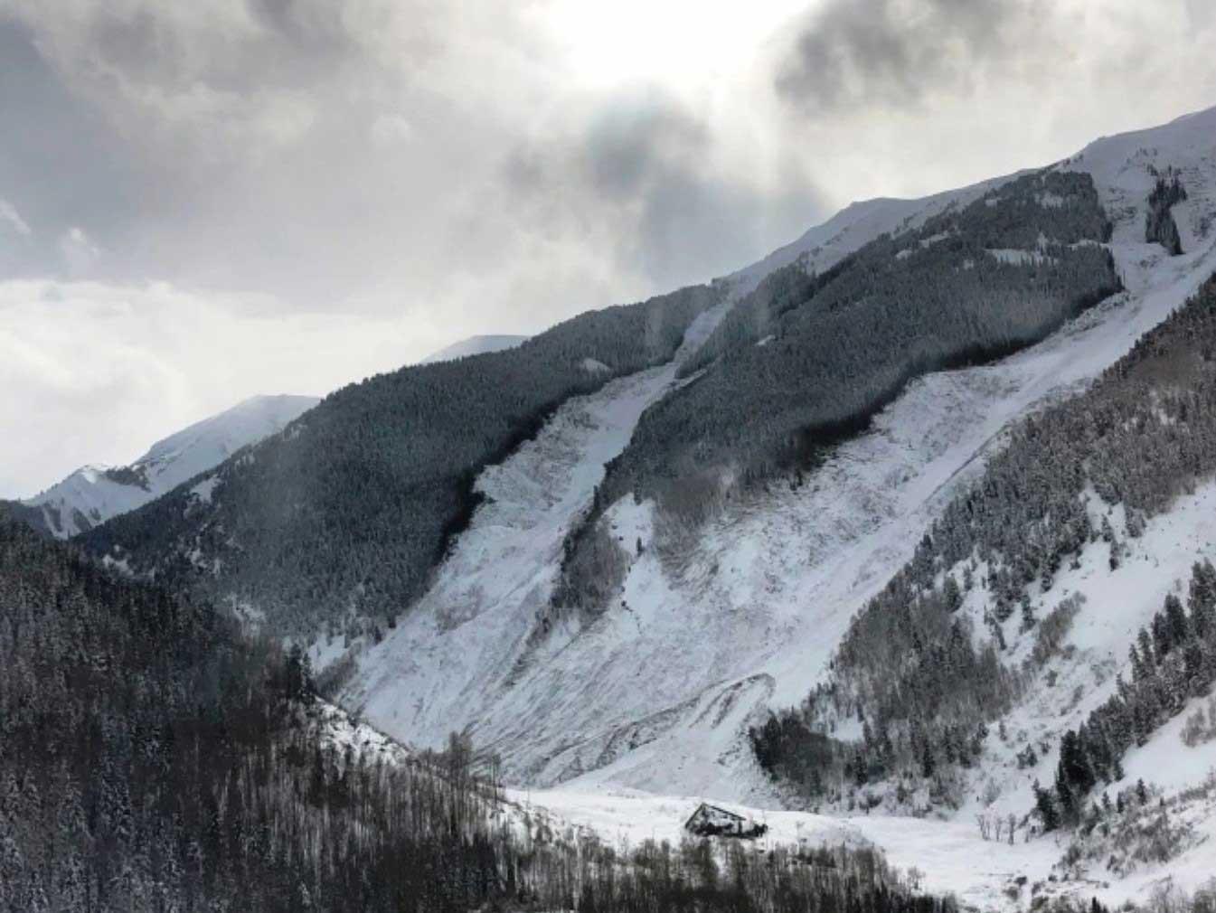 Highlands Ridge Avalanche - CDOT