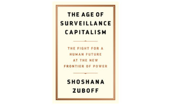 """Book Cover: """" The Age of Surveillance Capitalism: The Fight for a Human Future at the New Frontier of Power"""""""