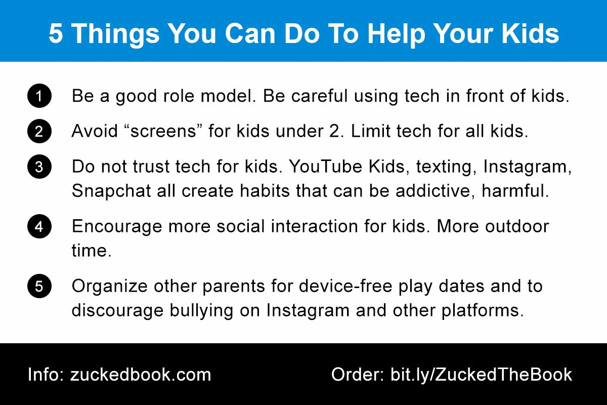 Tip Card: 5 Things You Can Do To Help Your Kids