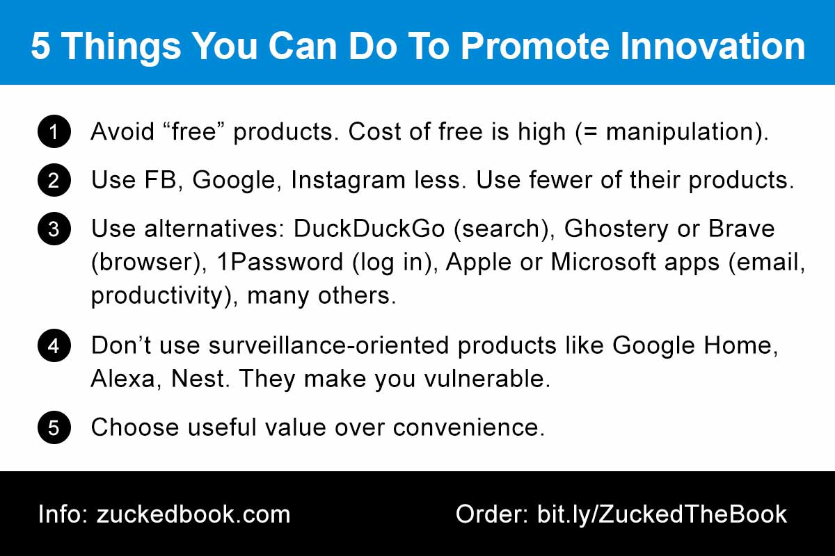 Tip Card: 5 Things You Can Do To Promote Innovation