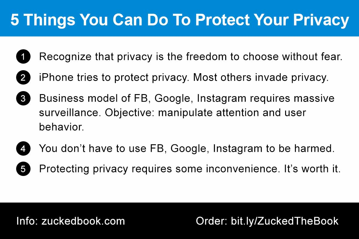 Tip Card: 5 Things You Can Do To Protect Your Privacy