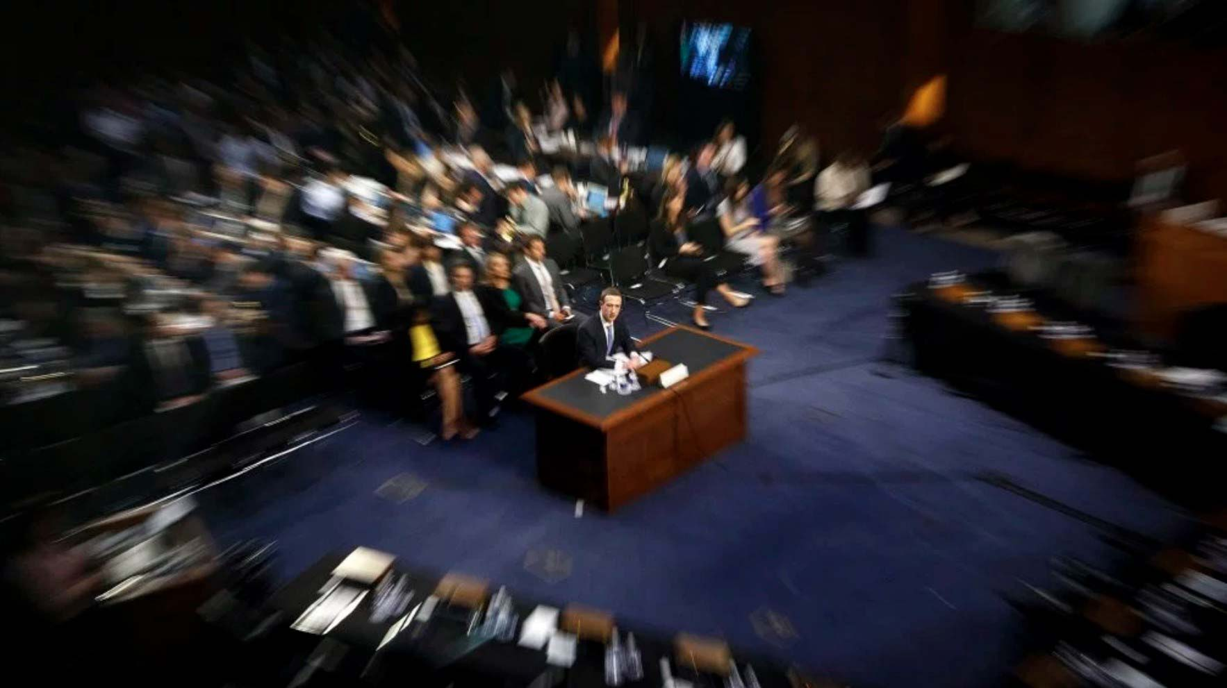Mark Zuckerberg on the Congressional Hot Seat