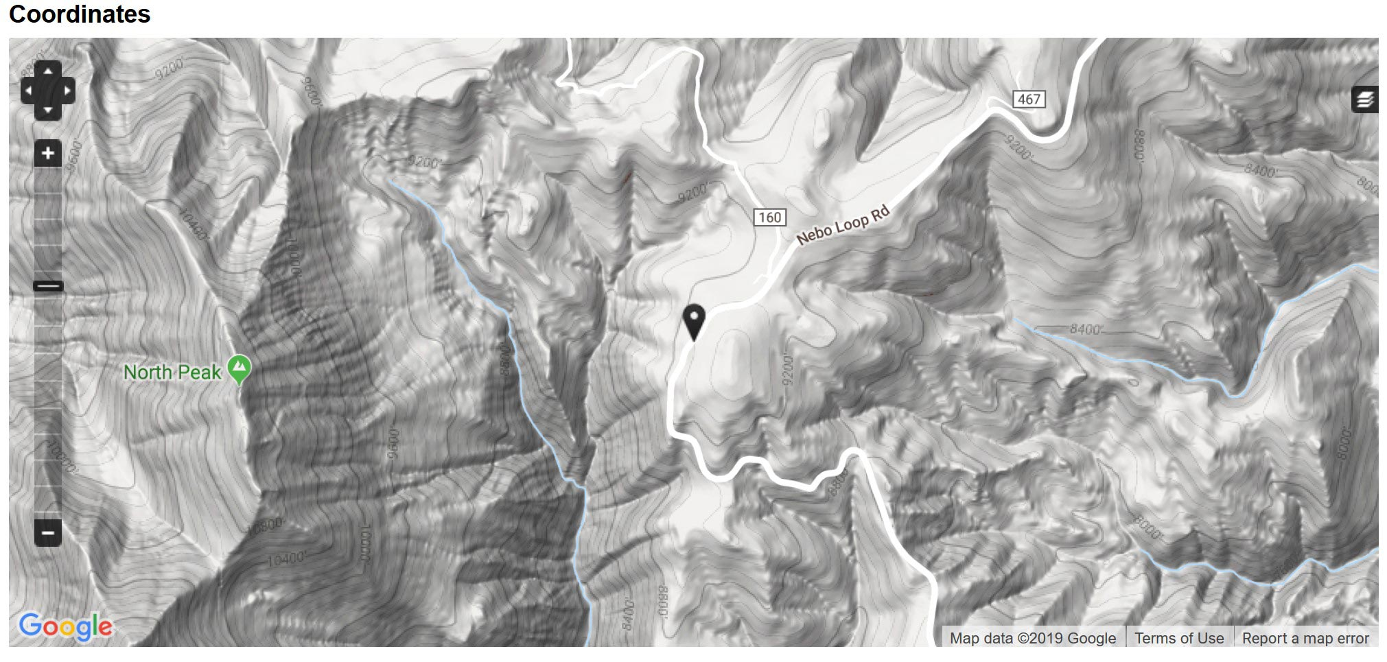 Location of field observation.