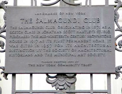 The Salmagundi Curators – Salmagundi Club