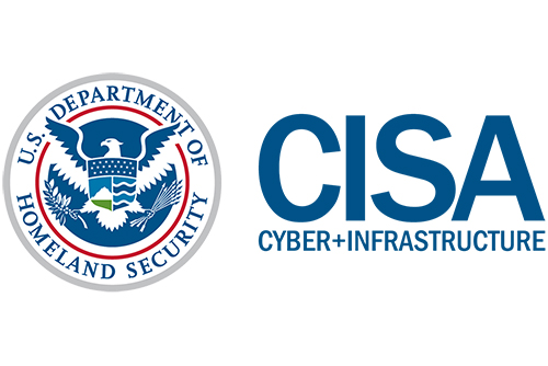 U.S. Dept. of Homeland Security - CyberSecurity and Infrastructure Security Agency - Logo