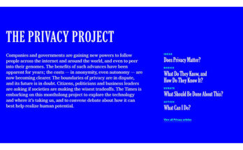 NYTimes - The Privacy Project
