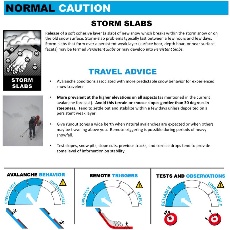 Avalanche Problems Toolbox - Storm Slab