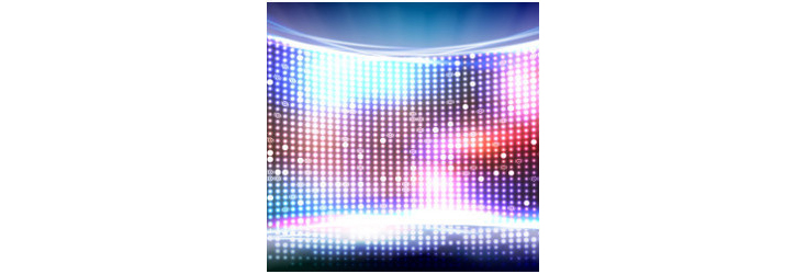 bright LED screen - Credit: Getty Images