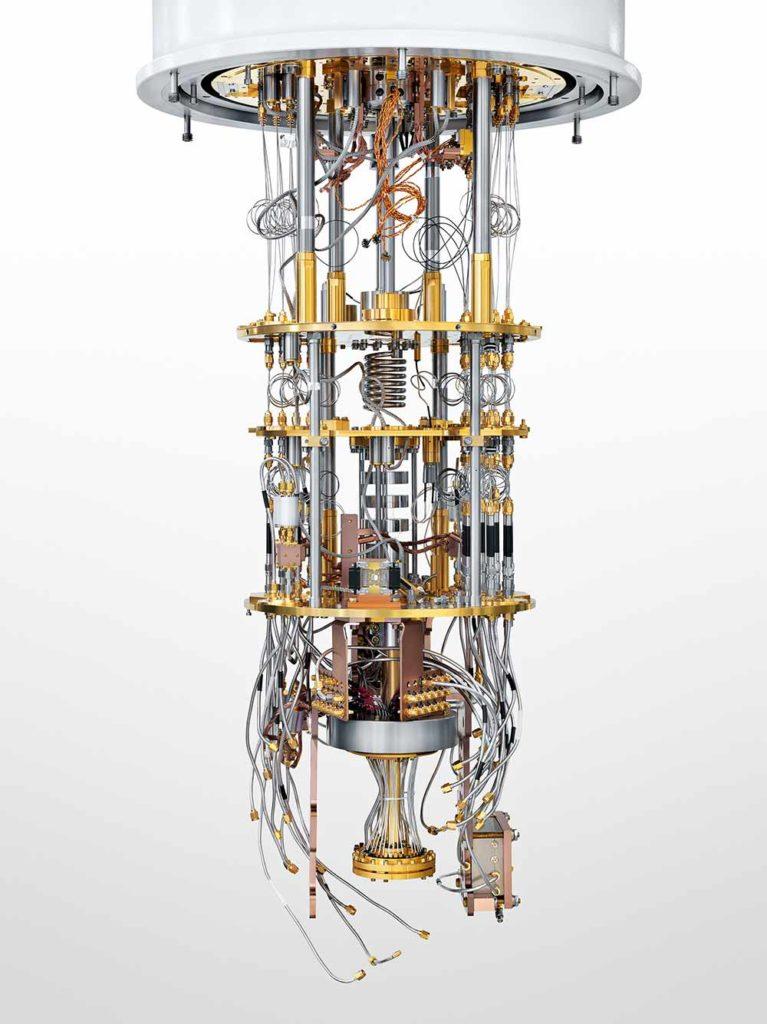 Quantum chandelier Rigetti Computing / Justin Fantl