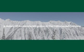 Cover Image - A History of Avalanche Mitigation in the Cottonwood Canyons