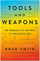 Book Cover - Tools and Weapons: The Promise and the Peril of the Digital Age