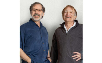 Ed Catmull and Pat Hanrahan - Credit: Richard Morgenstein