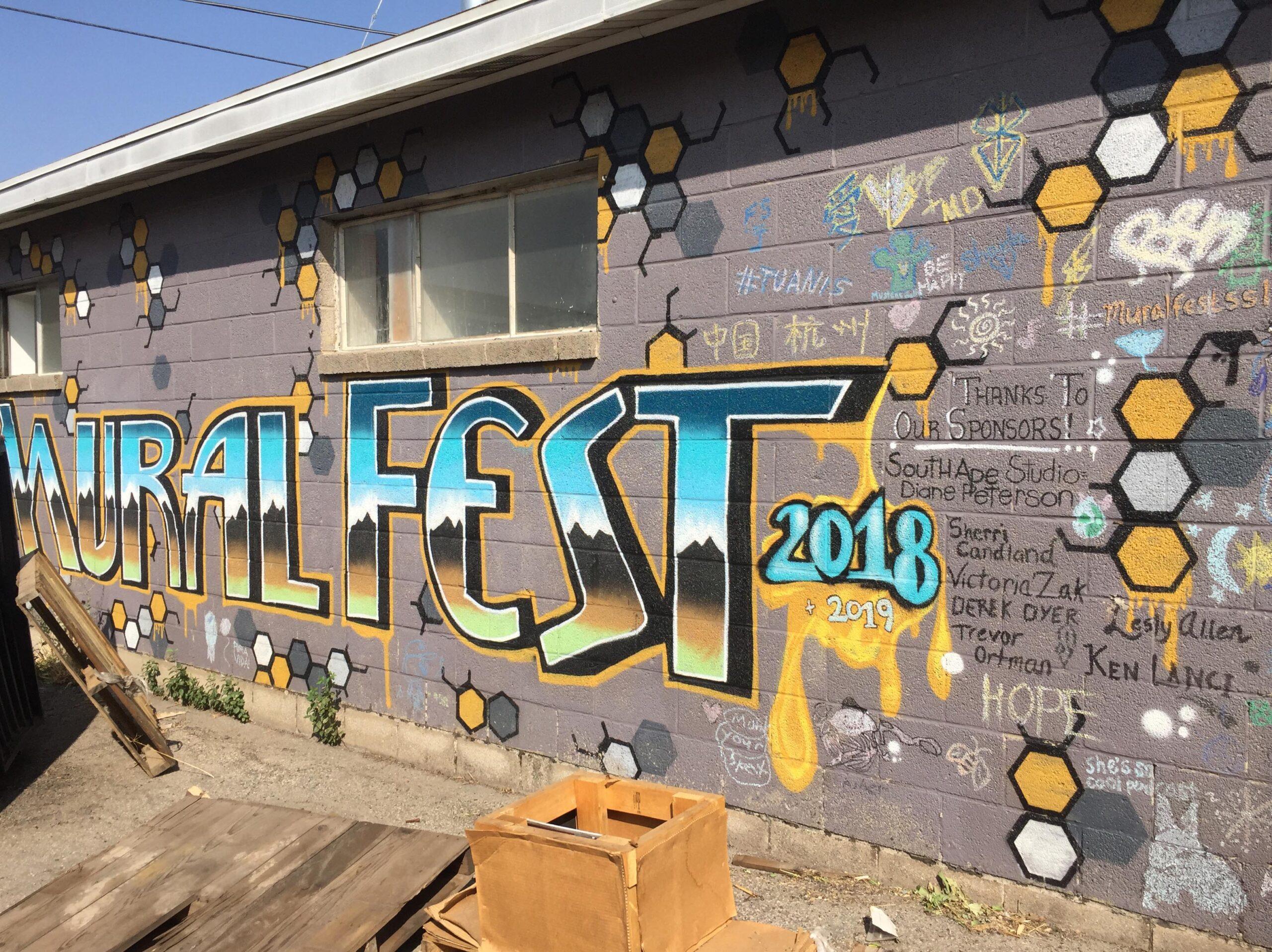 TITLE: MuralFest 2018 + 2019