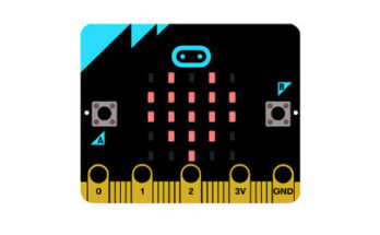 BBC micro:bit control board - Credit: Happykits