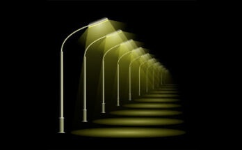 row of street lamps - Credit: Getty Images