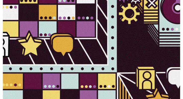 illustration of symbols on buildings- Illustration: Elena Lacey