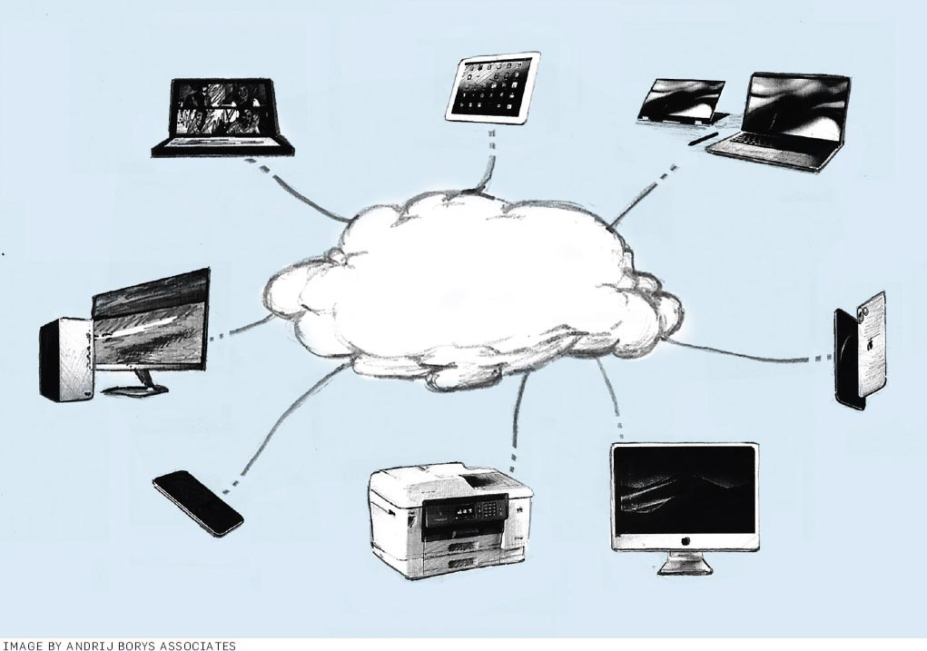 Figure 1. A typical cloud computing image.