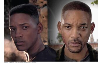 """Digital Humans on the Big Screen - In Ang Lee's 2019 action movie Gemini Man, Will Smith (right) is confronted by a younger clone of himself (left). This filmmakers went through a complicated process to """"de-age"""" Smith for the younger role."""