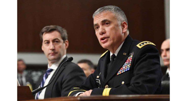 Nakasone testifying in Washington, D.C., February 2019 - U.S. Cyber Command