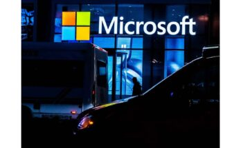 microsoft building - Photograph: Jeenah Moon/Getty Images