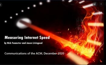 Measuring Internet Speed: Current Challenges and Future Recommendations