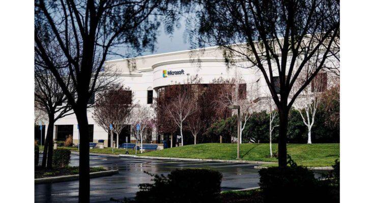 microsoft building - Photograph: David Paul Morris/Bloomberg/Getty Images