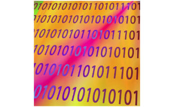 binary code on colorful background - Credit: Alesanko Rodriguez