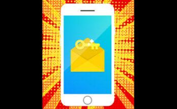 envelope and key on smartphone display, illustration - Credit: Shutterstock.com