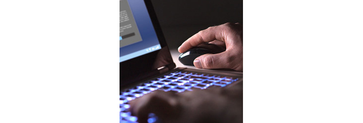 user's hands at mouse and keyboard - Credit: Getty Images