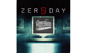 zero day and trolley car, illustration