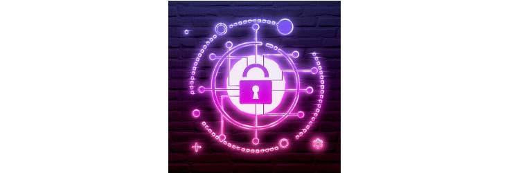 lock in electronic pattern, illustration - Credit: Diyajyoti / Shutterstock