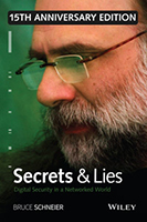 Book Cover - Secrets & Lies: Digital Security in a Networked World by Bruce Schneier
