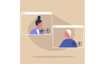 virtual conference call, illustration- Credit: Getty Images